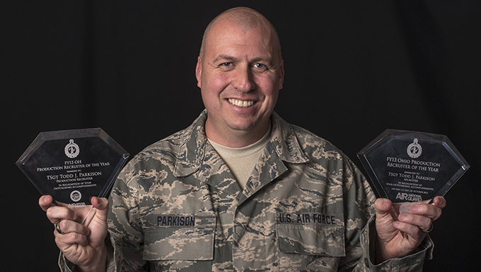 121 ARW Recruiter hits career milestone in record time
